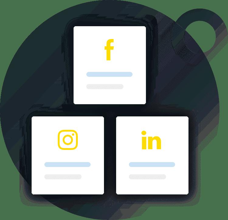 Social media campagne