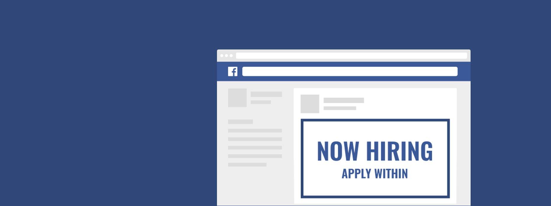Facebook Advertising voor recruiters: werving via social media