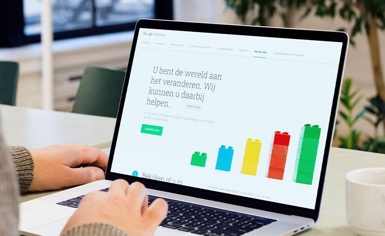 10.000 advertentietegoed met Google Ad Grants