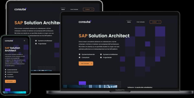case nieuwe website consuba.com